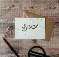 Hunter Paper Co. Sixty Card